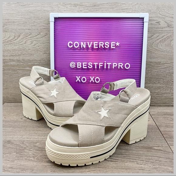 Converse One Star Boardwalk Strut Heel